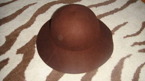 RARE BABY GAP XS/S BROWN GIRLS TODDLER HAT 12-18-24