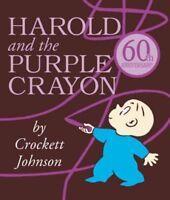 Harold and the Purple Crayon, Hardcover by Johnson, Crockett, ISBN 0062086529...