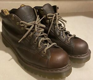 Vtg Doc Dr Martens 8287 Air Wair Leather Ankle Boots size 15 Made in England