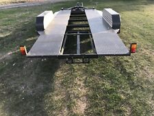 Tandem car trailer