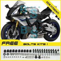INJECTION Fairing Bodywork Plastic For Kit Set Yamaha YZF-R1 2015-2017 MO11