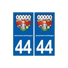 arrondis 44 breizh bretagne autocollant plaque