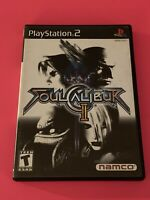 🔥SONY PS2 PlayStation Two 💯 COMPLETE WORKING GAME🔥SOUL CALIBER 2🔥FUN FIGHTE