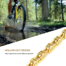 MTB Mountian Road Bike Bicycle 11 speed 116 links Bicycle Chain Gold HOT SALE