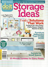 DO  IT  YOURSELF,   ISSUE, 2015 (  STORAGE IDEAS * FINALLY SOLUTIONS THAT WORK )