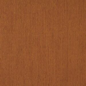 E220 Orange Textured Chenille Residential Contract Upholstery Fabric By The Yard