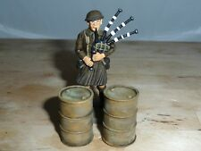 1/32 SCALE SOLID RESIN DESERT OIL DRUMS HAND PAINTED FOR MODEL DIORAMAS 2 PACK