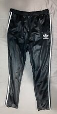 Adidas Vintage Chile 62 Slim Track Pants, Glanz, Shiny, Retro, Size Mens Large