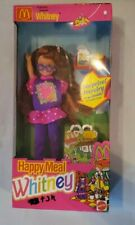 McDonald's Happy Meal Whitney Doll #11476 New NRFB 1993 Mattel, Inc.