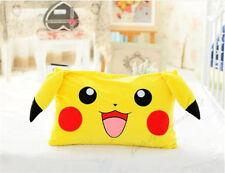 2016 Pokemon Anime POKEMON Pikachu Plush Pillow Case 62*42cm Top Sale