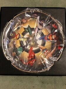 Alex Ross Justice League of America JLA Limited Edition #207 Warner Bros Plate