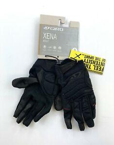 Giro Xena Women's Full Finger Cycling Gloves Size Small Black New
