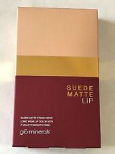 Glominerals Suede Matte Lip Set Lipstick Set of Four