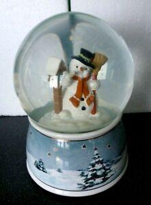 Goebel  1 Schneekugel / Spieluhr 21 cm NEU