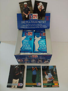 1992 PROSET GOLF 2 UNOPENED FOIL PACKS!!! LOTS OF ROOKIES IN THESE 2 PACKS!