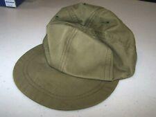 Vietnam US issued olive drab baseball cap, size 7 1/8