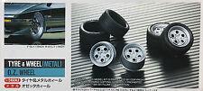 Fujimi 1/24 - O.Z. Tire & Metal Rims F.8J X 17inch, R.8.5J X 17inch - FUJ19127