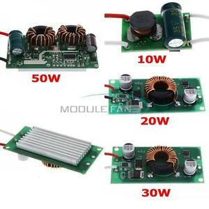 10W 20W 30W 50W Constant Current Power Supply LED Driver DC LED Chips Light MF