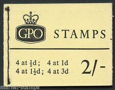 GREAT BRITAIN  STANLEY GIBBONS #N5 COMPLETE BOOKLET MINT NH