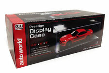Prestige Collectible Display Show Case 1/18 Diecast Model By Auto World AWDC001