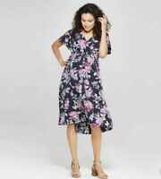 Women's Isabel Maternity by Ingrid & Isabel floral high low dress New size XS