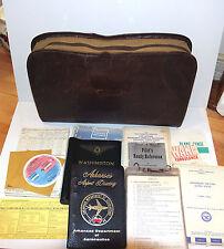 WWII Vietnam Era PILOT'S NAVIGATION KIT US Army Air Force Maps Checklist