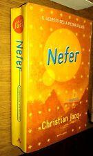 CHRISTIAN JACQ-NEFER-MONDADORI-1a EDIZIONE - GIUGNO 2000-SR38