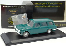 Eligor CEC 1/43 - Simca 1500 Break Verte  + Figurine