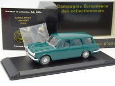 Eligor CEC 1/43 - Simca 1500 Break Verde + Figura