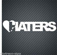 Love Haters Gracioso Pegatina de Vinilo Calcomanía JDM Euro Dub Van Car gráficos divertidos