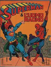 SUPERMAN & L' UOMO RAGNO N.2 - OLOCAUSTO DI EROI ! hulk dr. destino wonder woman