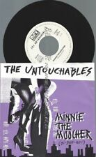 """7""""    THE UNTOUCHABLES MINNIE THE MOOCHER"""