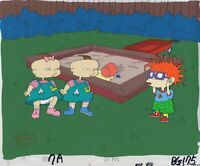 Rugrats Original 1990's Production Cel Animation Art Sandbox