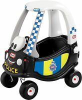 Little Tikes Cozy Coupe Police Car Ride On Kids Car Push Along Toy Cosy