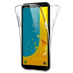 Shockproof 360° Silicone Protective Clear Case Cover For Samsung Galaxy A01 Core
