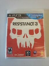 Resistance 3 Sony PlayStation 3 *Factory Sealed! *Free Shipping!