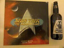 Star Trek The Adventure Stardate 18.12.02 Hyde park London and bottle