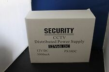 Security Cctv Distributed Power Supply 12 volt Dc- Ps18Dc , 5000Ma