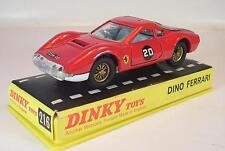 DINKY TOYS 216 FERRARI DINO Rouge dans neuf dans sa boîte #5403
