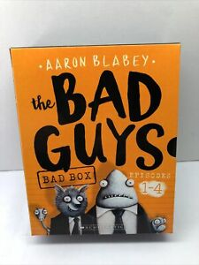 Children's Books - The Bad Guys Book Lot /  box set - Aaron Blabey - Bad Box 1-4