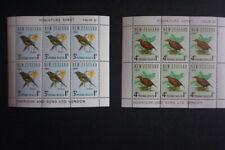 New Zealand - 1966 Health MNH Miniature Sheets