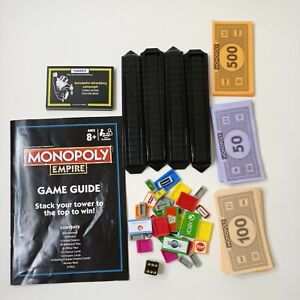 Monopoly Empire Board Game Own The Worlds Top Brands Replacement Parts Only