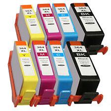 Pack 8 Cartouches compatibles HP 364 XL  avec puce pack x 4
