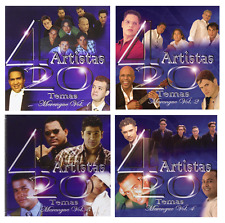 80 Merengue Hits on 4 New CD's * Alex Bueno, Kinito Mendez, Eddy Herrera, & more