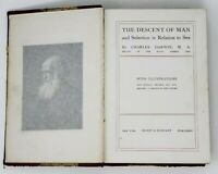 The Descent of Man and Selection in Relation to Sex 1874 HC Book Charles Darwin