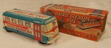 VINTAGE 1950's JACKIE GLEASON HONEYMOONERS BUS BY WOLVERINE TIN WINDUP ORIG. BOX