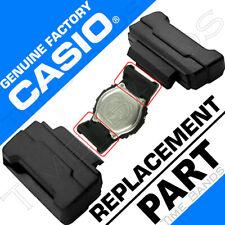 CASIO 74243710 G-SHOCK BLACK 2 END PIECE STRAP ADAPTERS: GDF-100 DW-5600 DW-6900