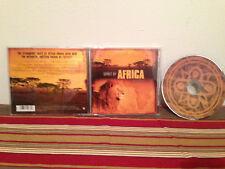 Spirit of africa insingizi music cd Case-disc & insert