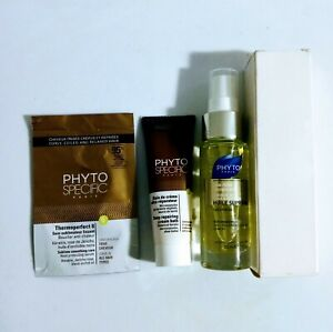 Set of 3 PHYTO PARIS Huile Supreme Smoothing Oil, Repair Cream, Thermoperfect 8