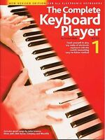 The Complete Keyboard Player Learn to Play Beginner Easy lesson Music Book 1